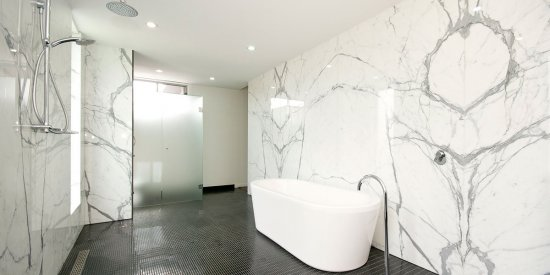 Statuario Marble Bathroom